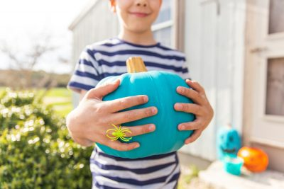 teal pumpking project